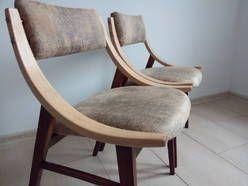 Krzesło Skoczek - Vintage Retro Loft PRL Lata 70