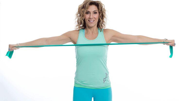 Övningar för starkare och friskare axlar.