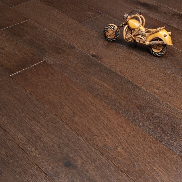 Alverton Engineered Flooring 20/5mm x 190mm Oak Dark Brown Brushed and Matt Lacquered 2.09m2 - from Discount Flooring Depot UK. From only £32.99 per m2.