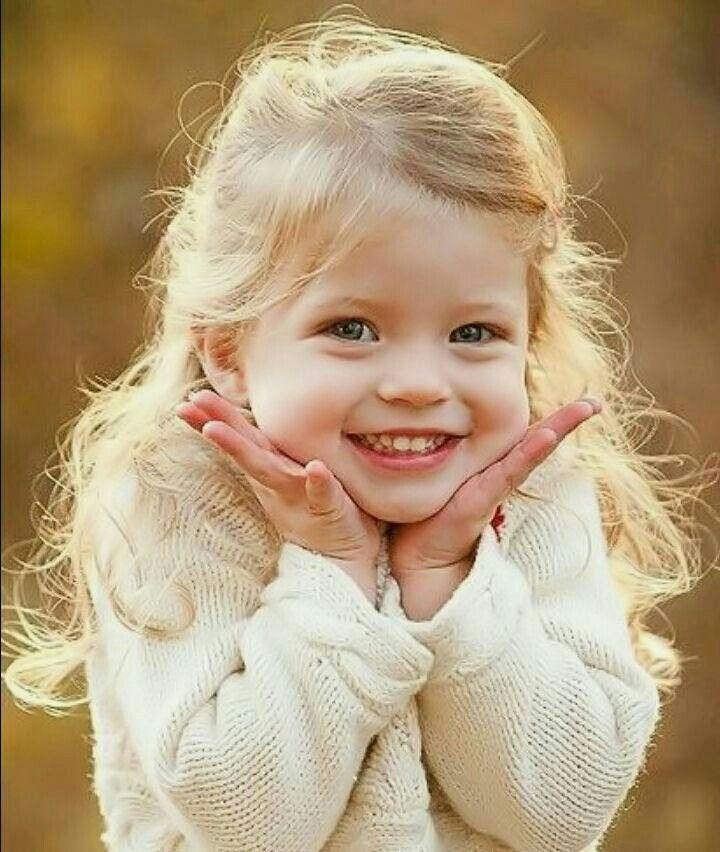 Картинка радостной девочки