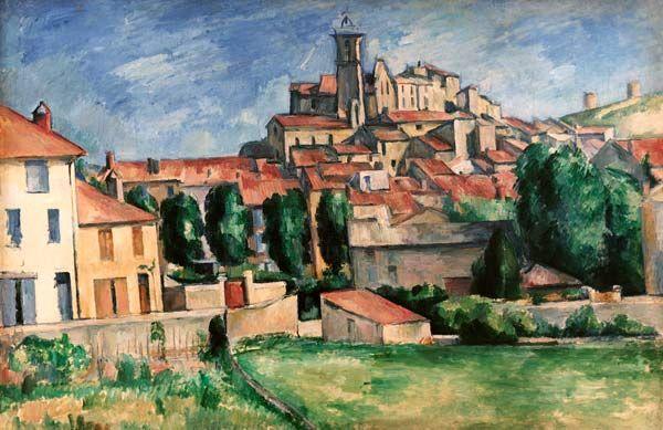 Titre de l'image : Paul Cézanne - Gardanne