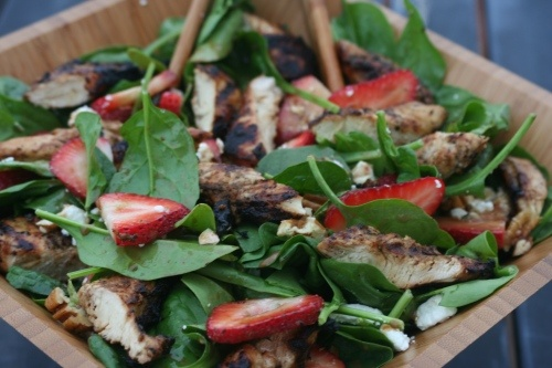 ... this: strawberry spinach salads , spinach salads and strawberries