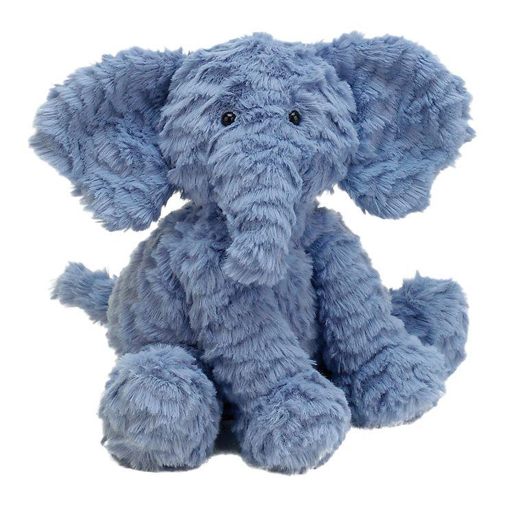 Buy Jellycat Fuddlewuddle Elephant, Medium | John Lewis