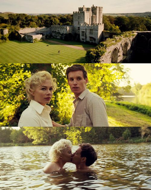 Eddie redmayne in My Week with Marilyn