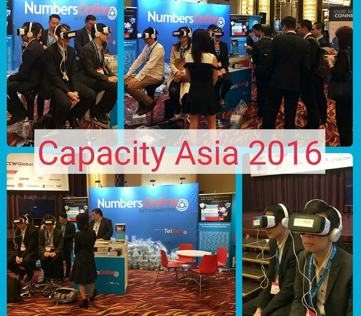 Day one at Capacity Asia 2016