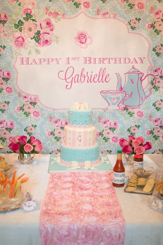 7 best English Tea Birthday Party images on Pinterest | Mass ...