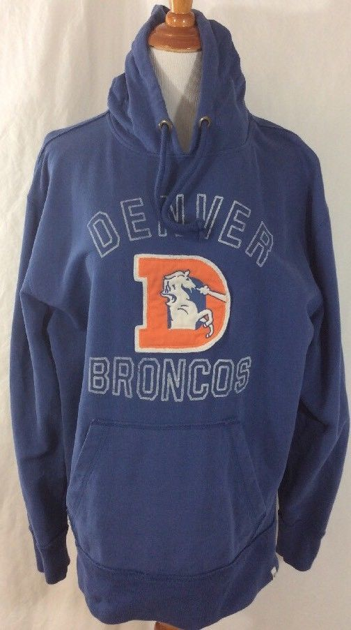 100% authentic 618b3 a1f8e vintage broncos hoodie