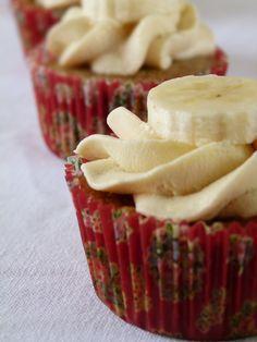 Cupcake banane et cannelle