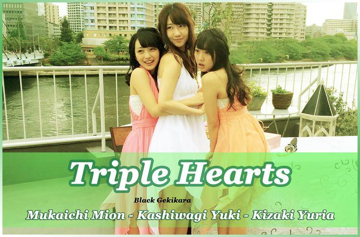 Mukaichi Mion, Kashiwagi Yuki, & Kizaki Yuria
