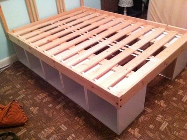 Ikea hack bed  ikea storage bed hack | Beds | Pinterest | Ikea storage, Storage ...