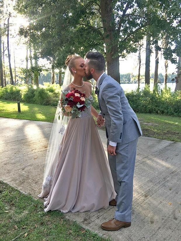 Maci Bookout wedding