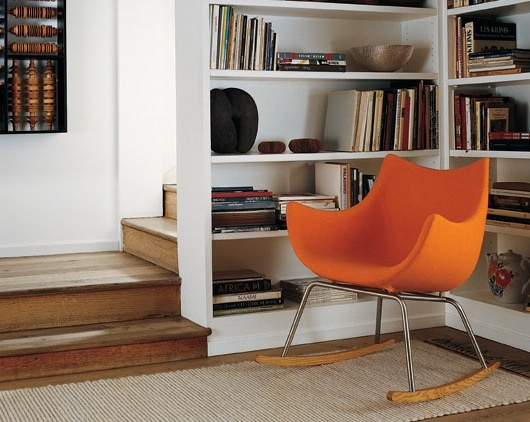Basket chair by Vico Magistretti. Available at SUITE New York.