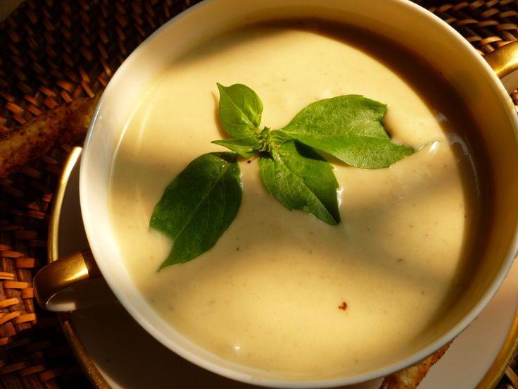 Supa crema de vinete