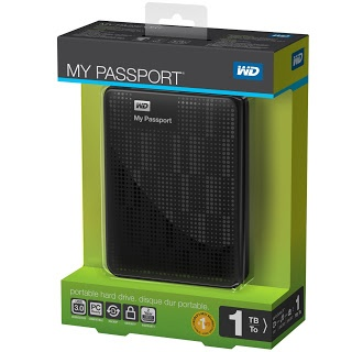 HD Externo My Passaport 1 Tera R$299