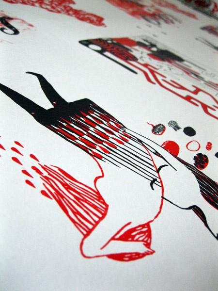 #serigraphy  Graphzine Minette 6, Le Cagibi