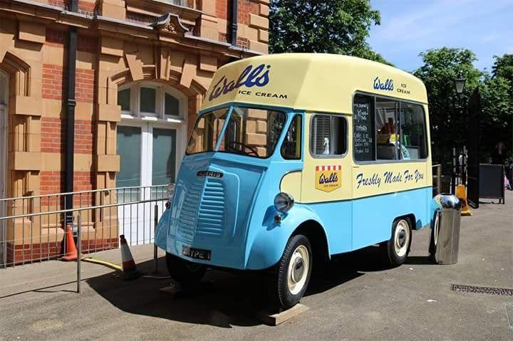 Morris J Ice Cream Van Walls Ice Cream Van Walls Ice Cream Commercial Vehicle