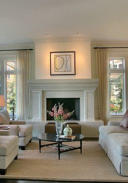 Design Dilemma: Words of Advice on Recessed Lights. Love the recessed lighting over the fireplace.