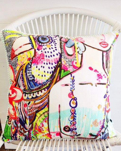 Toucan Cushion by Ahoy Trader | FRANKIE + COCO