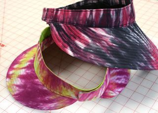 The Best Free Crafts Articles: Wide Brimmed Sun Visor Free Tutorial By Vicki Welsh of Field Trips In Fiber
