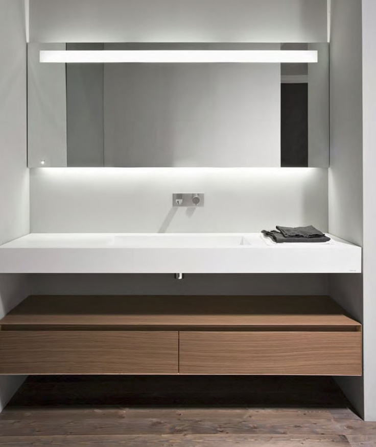 Elegant Incredible bathroom having white and bright colours are the most recent fads in the bathroom design Bathrooms filled with plainly colored painted walls as For Your Plan - Elegant flat bathroom mirror Awesome