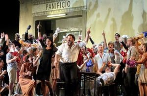 Cavalleria rusticana/ Pagliacci London modern day songs competition – overview