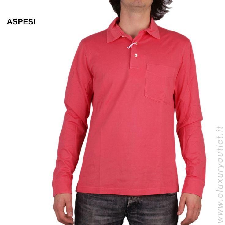 #Aspesi #polo -60% su #eluxuryoutlet! >> http://www.eluxuryoutlet.it/it/uomo/top-wear/polo/polo-aspesi.html