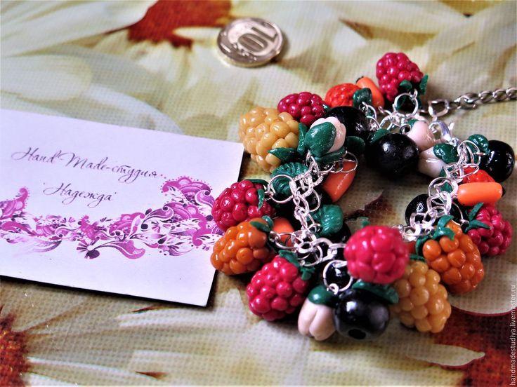 Купить Браслет Сладкое лето - комбинированный, браслет, браслет на руку, браслет в подарок