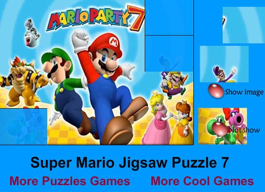 Jigsaw of Mario Party
