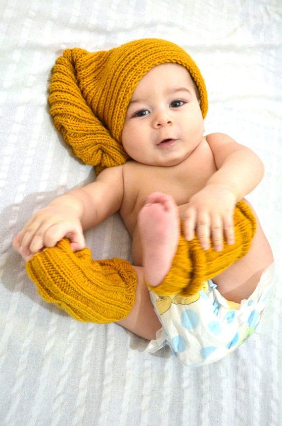 43525591a47 Mustard Hat and Gloves set    Mustard Winter Lace Slouch Hat and Fingerless  Gloves