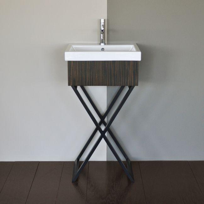 Images On Moda Vanity in Bathroom Vanities Free standing vanity with cross legs