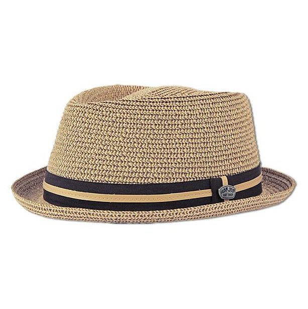 Ron Jon Short Brim Fedora Hat W/ Pin