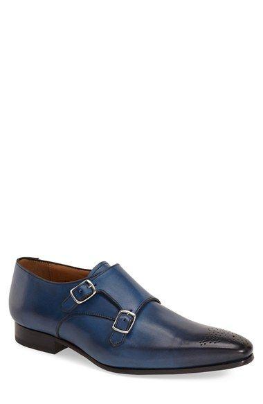 455ffb87689d Mack James  Calvo  Double Monk Strap Shoe (Men)