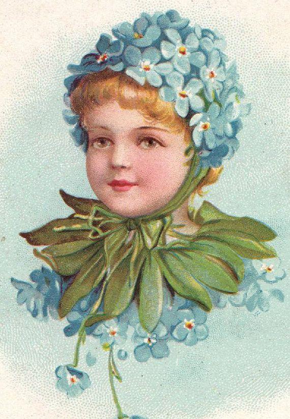 victorian ephemera | Victorian Era ephemera gift book card color lithos beautiful ...