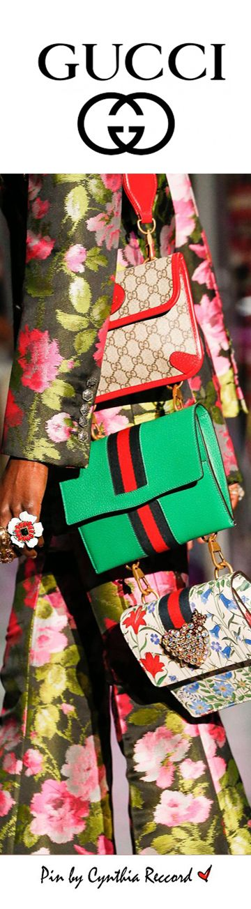 Gucci FW17 Ready-to-Wear Fashion Show Details | cynthia reccord | handbags fall