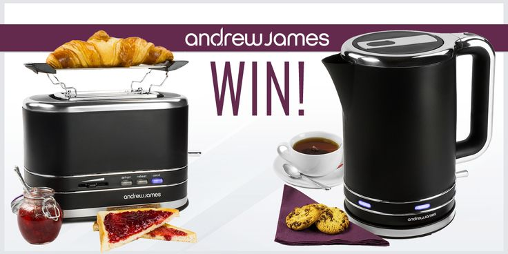 Big Breakfast Giveaway - Win an Andrew James Lumiglo Breakfast Duo Kettle And Toaster Set!