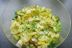 Omas echter Berliner Kartoffelsalat Ein Kartoffelsalat ohne Mayonnaise, selbst getestet und die Gäste waren begeistert, tolles Rezept