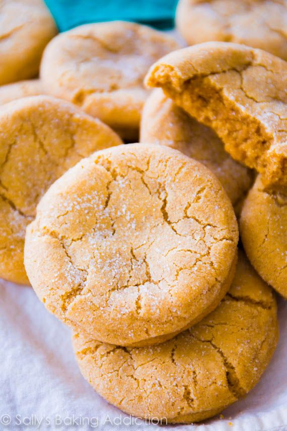 Chewy Brown Sugar Cookies Recipe ~ Super soft and chewy – no mixer required!