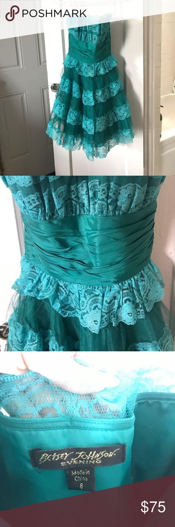 Betsey Johnson Tea Party Teal Dress | Dress images