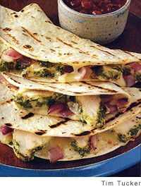 Grilled Chicken and Red Onion Quesadillas.....This is the BEST grilled chicken recipe EVER!!!! Try it, you'll love it!!