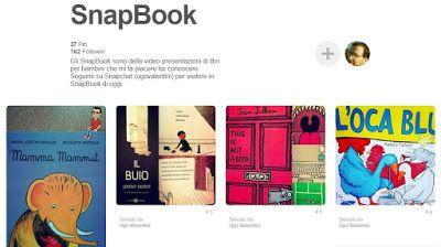 CiaU: SnapBook - Una bacheca Pinterest con i miei consigli di albi illustrati. #libriperbambini