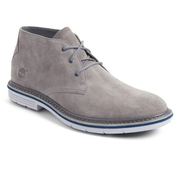 Men's Timberland Naples Trail Chukka Boot (410 BRL) ❤ liked on Polyvore featuring men's fashion, men's shoes, men's boots, steeple grey suede, mens grey suede boots, mens suede boots, mens chukka boots, mens grey shoes and mens suede chukka boots