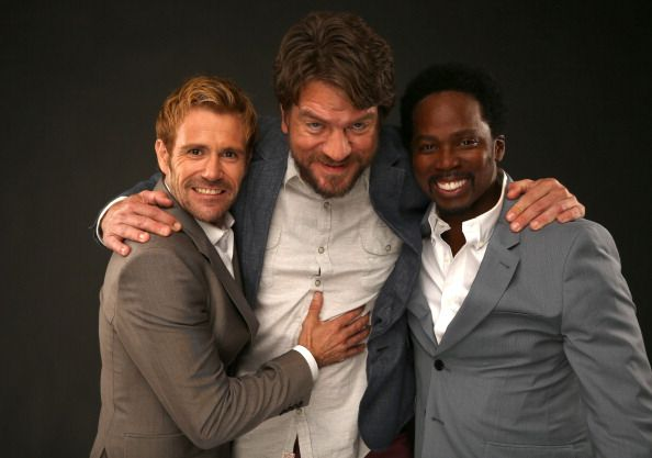 Charles Halford, Matt Ryan and Harold Perrineau
