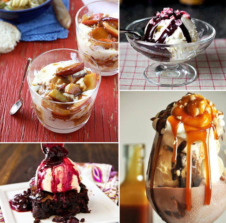 Ice Cream Sundaes: 8 of the Best Recipes!