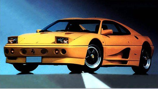 Ferrari 348 Elaborazione (Zagato), 1991