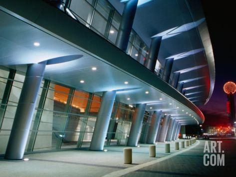 Dallas Convention Center, Dallas, Texas Photographic Print by Richard Cummins at Art.com