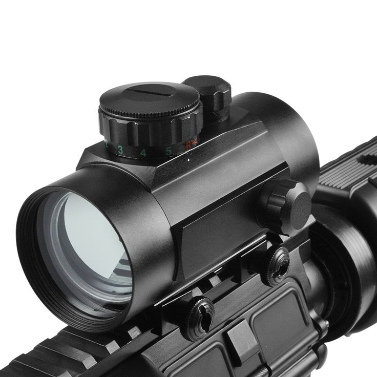 1x40 Tactical Holographic Red Green Telescope Dot RifleScope Sight 11mm/20mm Picatinny Weaver Rail Mount of Hunting Scopes //Price: $50.99 & FREE Shipping //     #tacticalgear #survivalgear #tactical #survival #edc #everydaycarry #tacticool