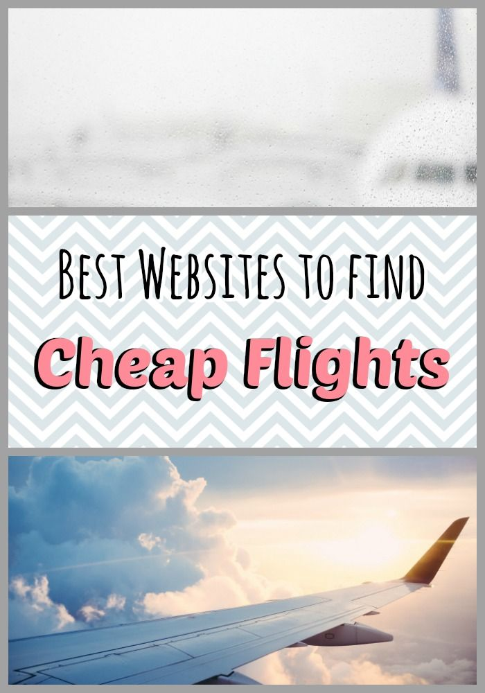 The best websites to find affordable airfare!
