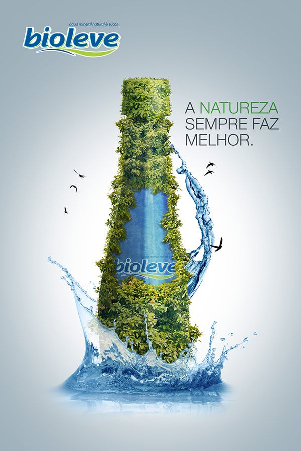 Água Bioleve on Behance