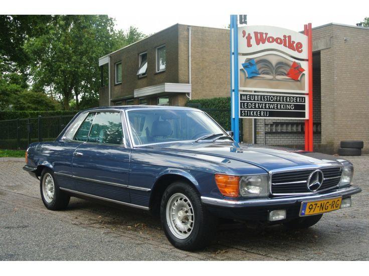 Mercedes-Benz SL-Klasse, type: 280 SLC coupé, inrichting: Cabriolet (2 drs), vermogen motor:185 PK, aantal cilinders:6, bouwjaar: september 1979, kleur: Donkerblauw metallic, bekleding: lichtgrijs, brandstof: benzine, versnellingsbak: automaat, km. stand: 86.000 km, cilinderinhoud: 2.746 cc, gewicht (leeg):1.510 kg, max. trekgewicht: 1.200 kg, APK: tot 2 juni 2016, prijs: op aanvraag.