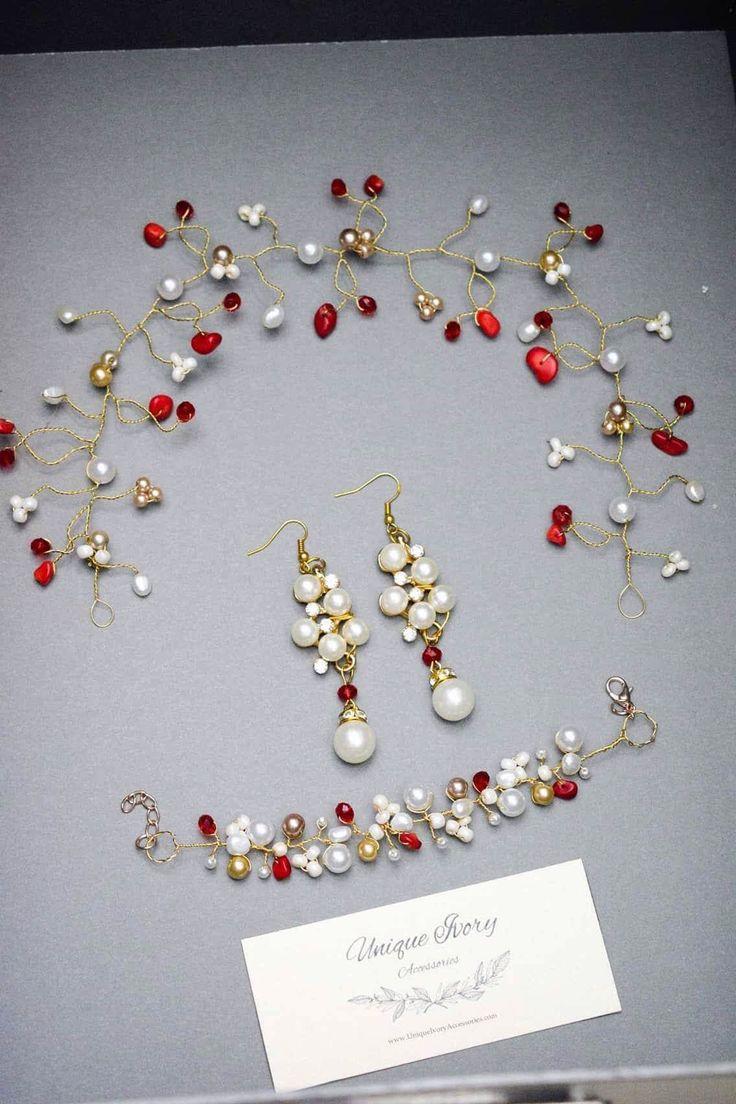 #UniqueAccessoriesIvory #accessories #handmade #bridal #passion #love